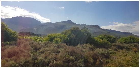 Des par chemins en Afrique du Sud...