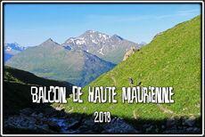 GR5, Balcon de Haute Maurienne