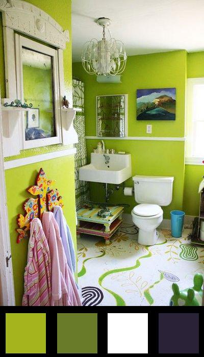La salle de bains - Nuancier 13