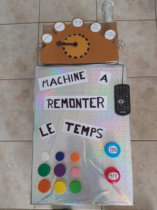 Ma machine à remonter le temps
