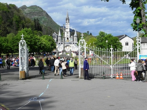 Les sanctuaires de Lourdes (photos)