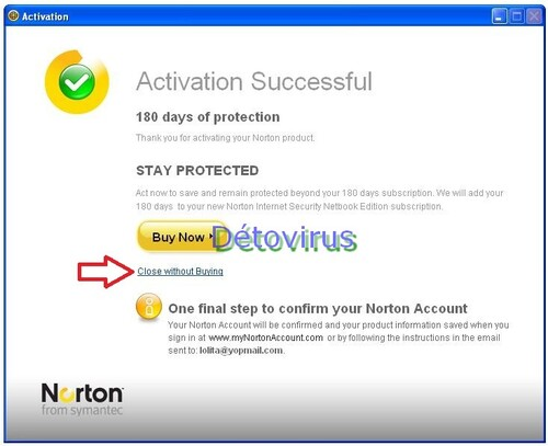 Norton Internet Security 2013 - Licence 6 mois gratuits