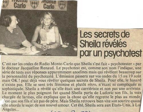 15 au 19 août 1983 : Psychotest sur RMC - MAJ
