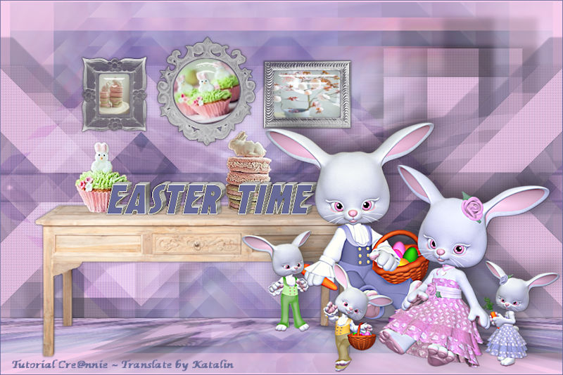 Tutorial Cre@nnie ~ Easter Time
