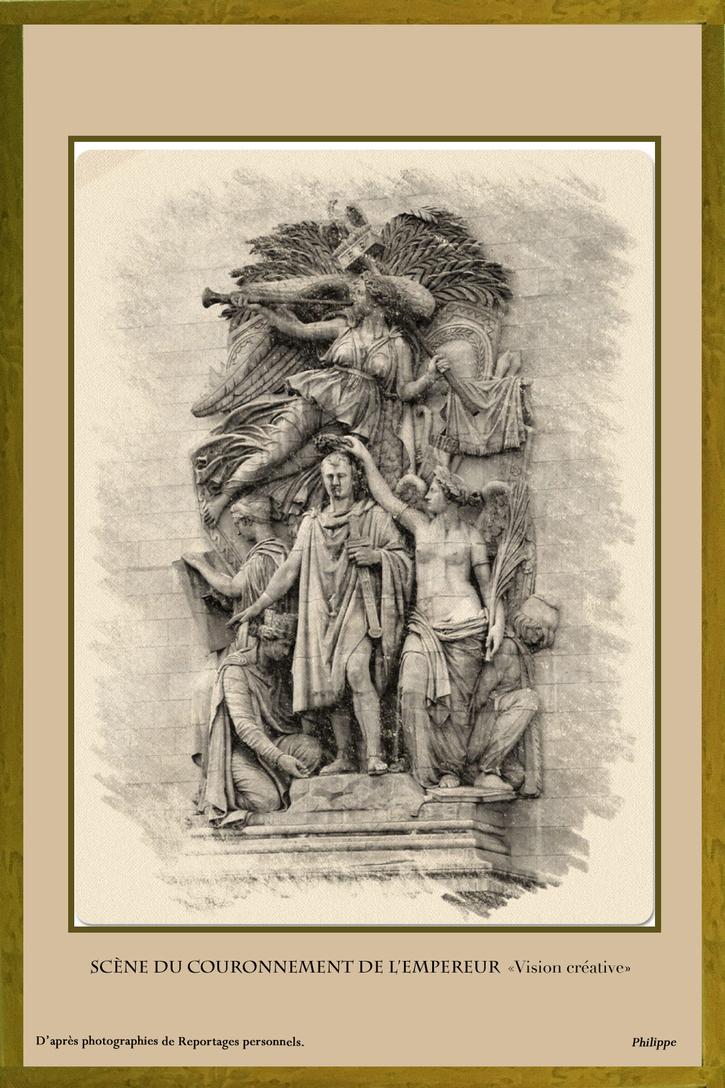 """Exposition Virtuelle: """"Une vision de l'Arc de Triomphe de l'Étoile à Paris"""" de Philippe - Partie 5"""