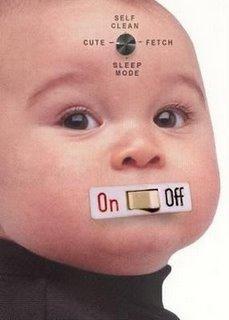 Je n'aime pas les bébés