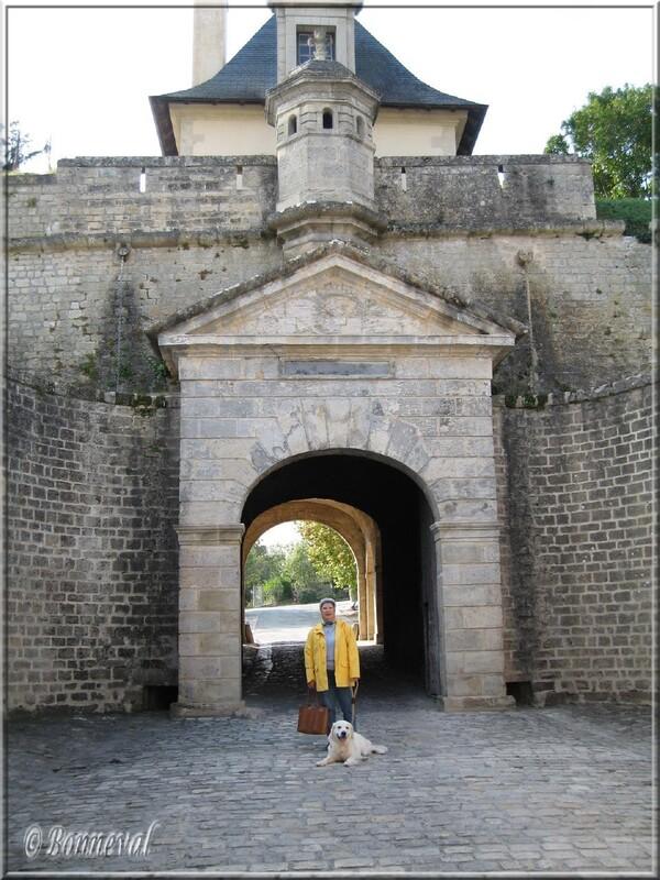 Citadelle de Blaye la Porte Royale, le vestibule ovoïde, la deuxième porte
