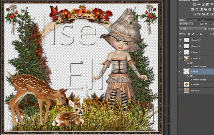 Elfe des forêts   de Inge-Lore   PS