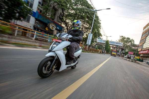 Ather 450 Electric Scooter First Ride Review Maniks