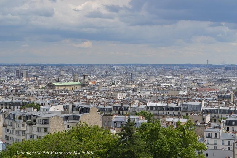 Montmartre : vues sur Paris