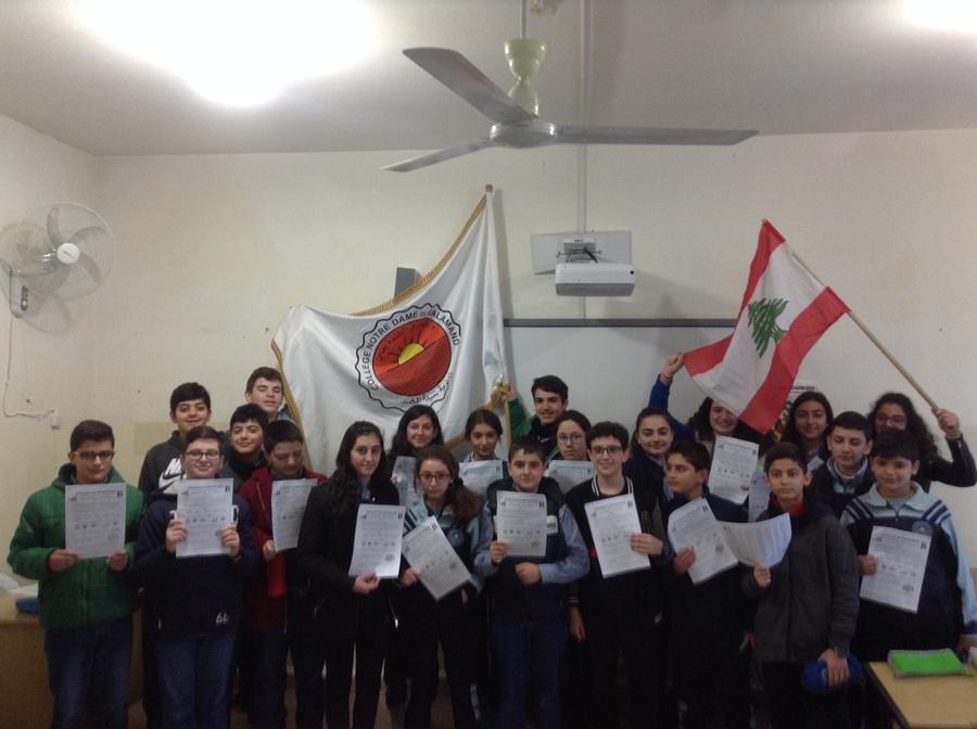 Les collégiens  ont célébré la fête des mathématiques avec le concours international Kangourou.