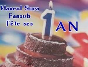 Joyeux anniversaire à nous !!!!!