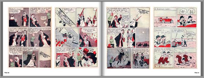 Tintin au pays de l'or noir - Version inédite Petit Vingtième