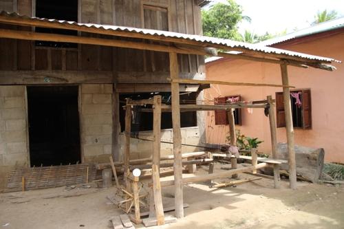 Village de Ban Bor,  entre Pakbeng et Louang Prabang