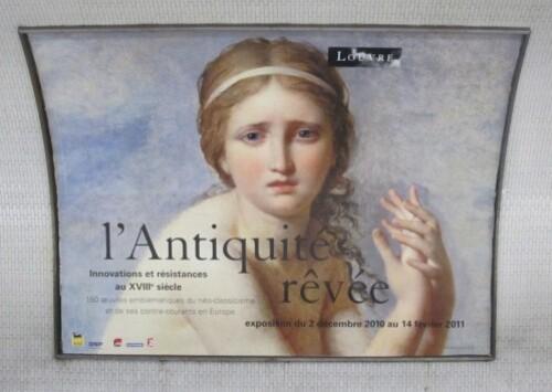 Antiquité rêvée affiche métro