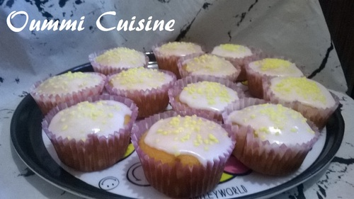 Muffins tout au citron