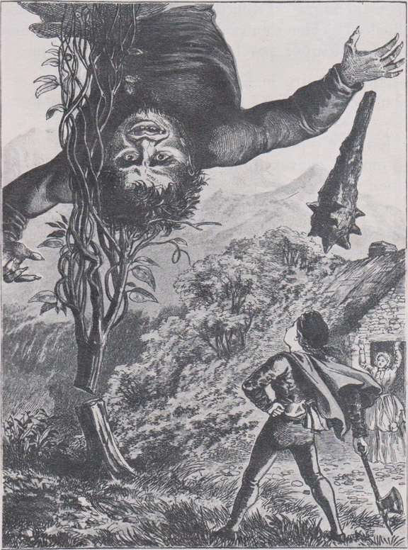 Jacques et le haricot géant (conte anglais)