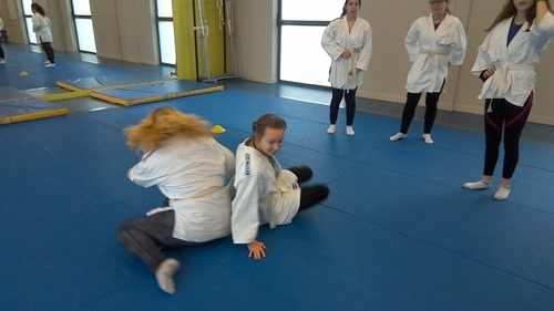 nous apprenons le judo
