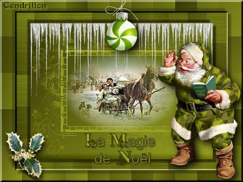 La magie de Noël - Lizdesign