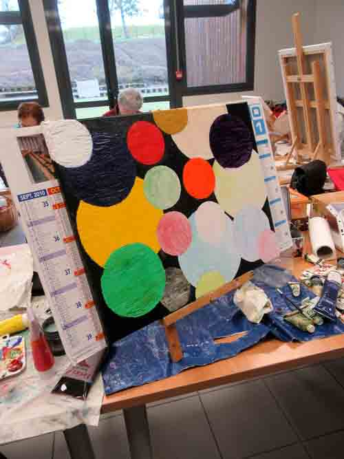 L'atelier-Peinture de la MJC
