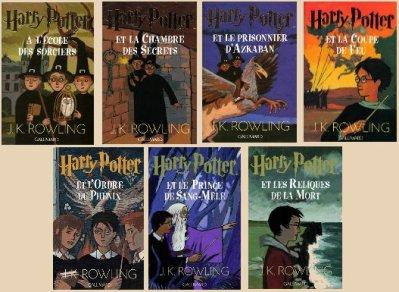 """Résultat de recherche d'images pour """"harry potter saga livre"""""""