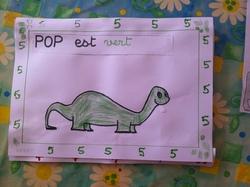 L'album à compter dinosaures selon C.