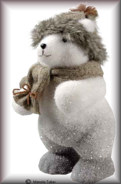 Tube bonhomme de neige 2986