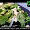 salade fromage perles vinaigre