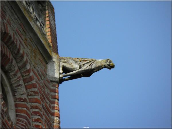 Gargouilles de la Cathédrale Saint-Alain  à Lavaur