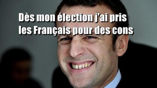 Une crapule nommée Macron