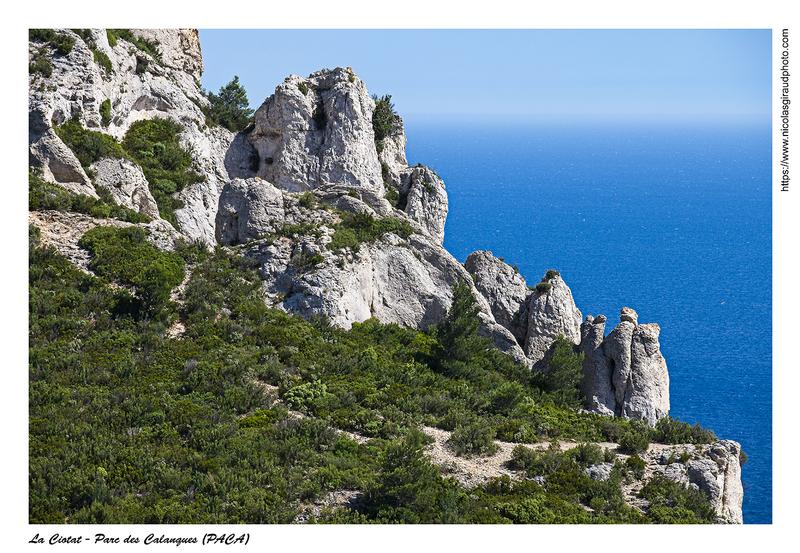 Calanques du Cap Camaille au Bec de l'Aigle (PACA)
