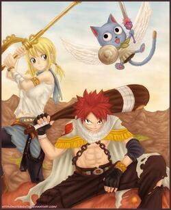 chapitre 15:Natsu VS Lucy