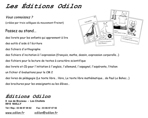 Editions Odilon