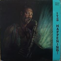 Michael Bolivar - It's Happening - Complete LP