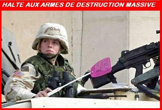 arme destruction massive