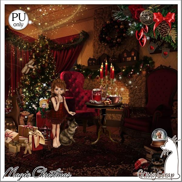 MAGIC CHRISTMAS - lundi 7 décembre / monday december 7th Kitty608