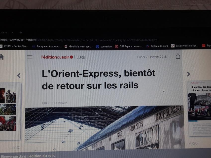 Exposition Orient Express