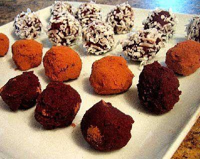 Recette de fin d'année: Truffes au chocolat