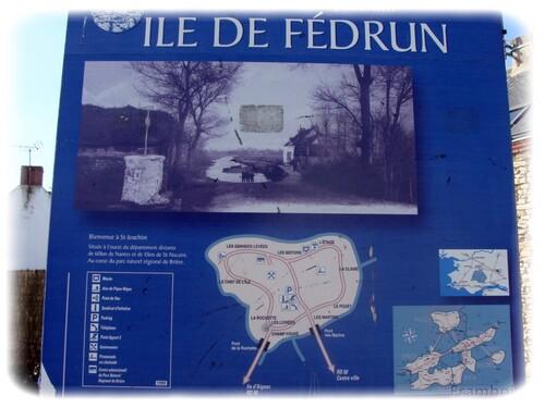 Ile Fédrun St joachim Marais de Brière