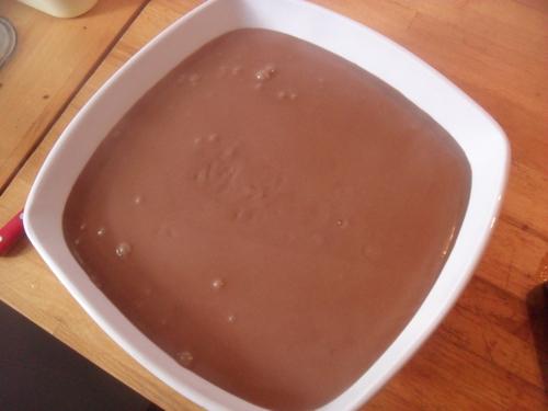 une petite gourmandise : des chocolats liégeois maison