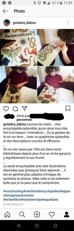 publications Instagram