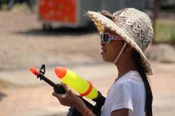 Pi Mai, la nouvelle annee au Laos
