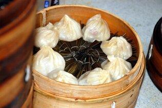 Raviolis asiatiques à la vapeur