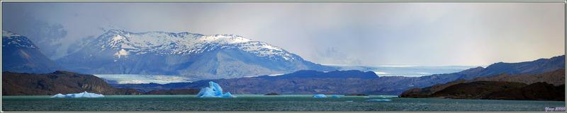 Approche du Glacier Upsala - Lago Argentino - Patagonie - Argentine