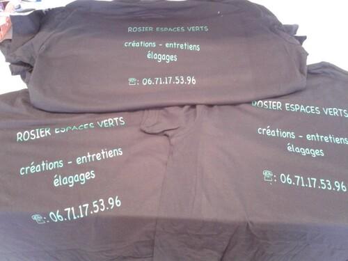 tee-shirt d'entreprise