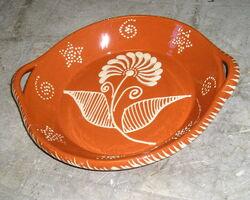 plat décoré