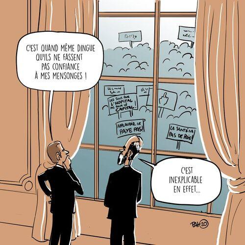L'  humour    grinçant    du   dimanche !
