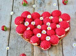 Fillette 2 : pâquerette fraises.