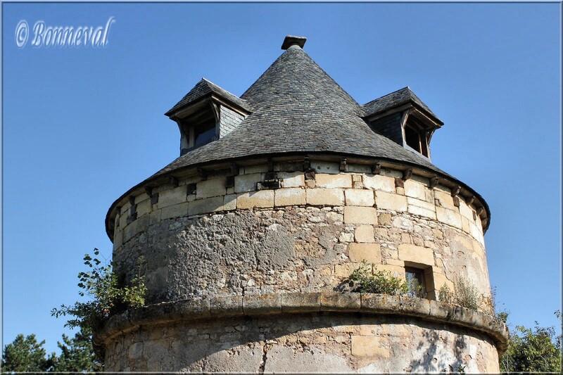 Colombier sur pied Château de Sauveboeuf XVIIème siècle Aubas Dordogne