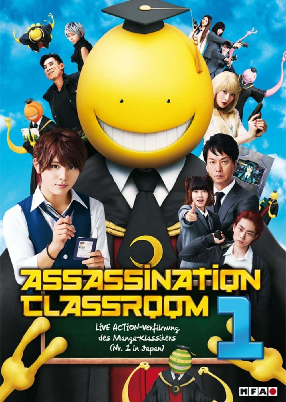 Ansatsu kyôshitsu / Assassination Classroom (2015)
